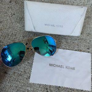 Michael kors authentic Kendall aviator sunglasses